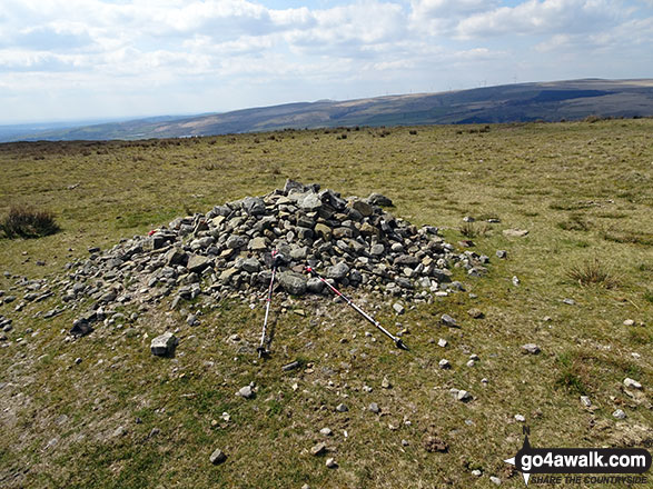 Brown Wardle Hill Summit Cairn