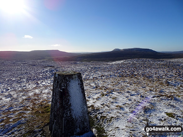 Sugar Loaf (Horse Head Moor) summit Trig Point