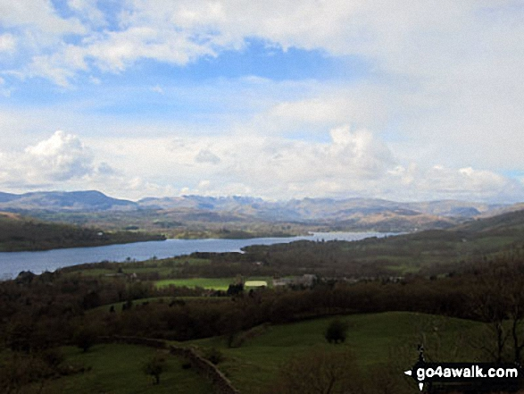 Windermere from the summit of Orrest Head