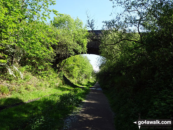 The start of the Longdendale Trail in Hadfield