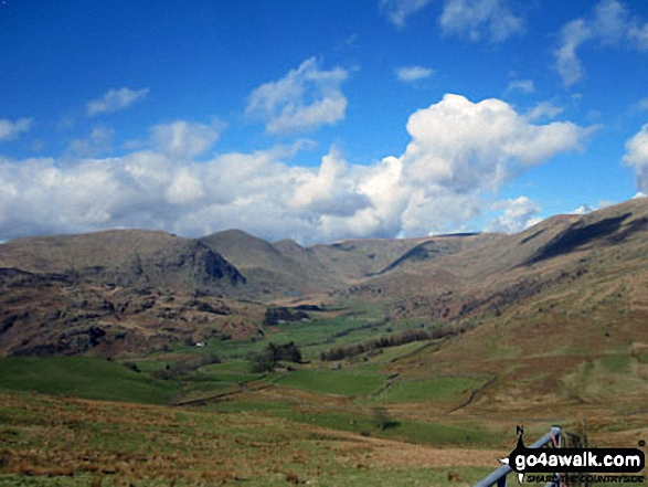 The Kentmere Fells from Hollow Moor (Green Quarter)