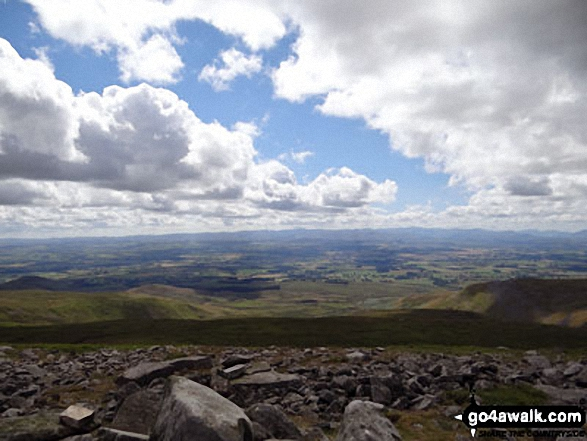 The view from Little Dun Fell
