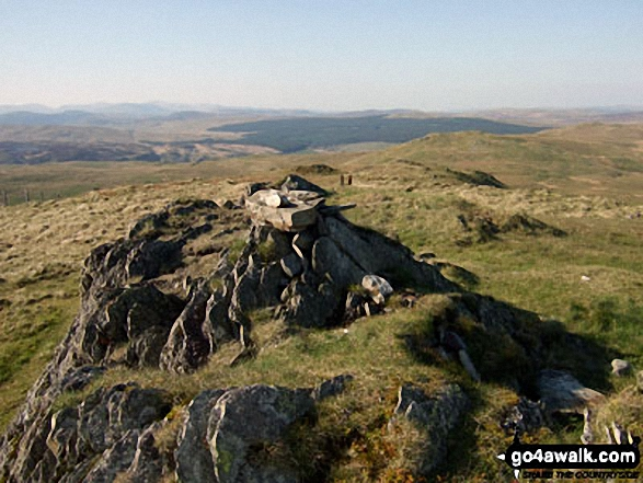 Gallt y Daren summit cairn