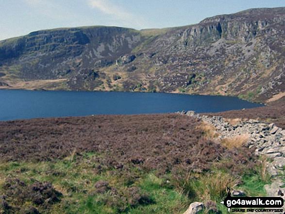 Arenig Fawr above Llyn Arenig Fawr