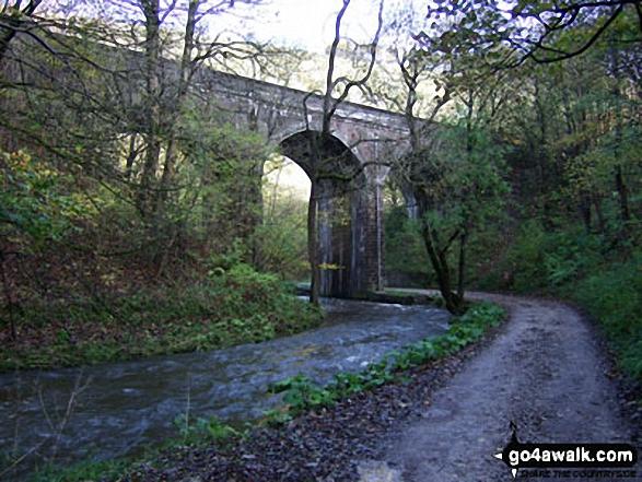 The Monsal Trail in Wye Dale