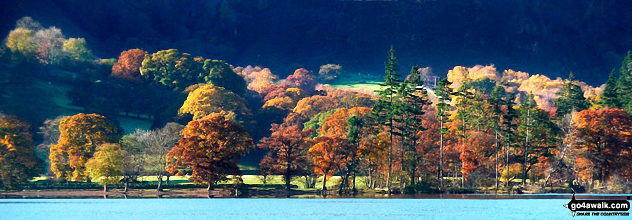 Ullswater in all its autumn glory from the Ullswater Steamer