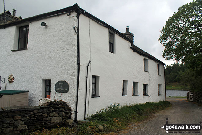 The former home of Judith Paris in Watendlath