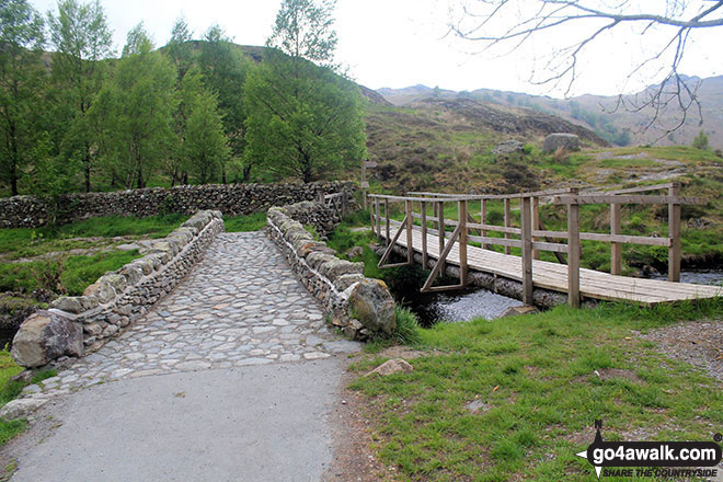 The bridge over Watendlath Beck, Watendlath
