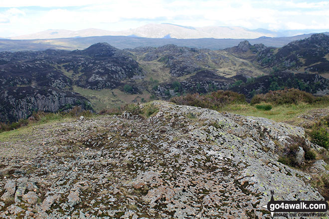 The bare rocky summit of King's How