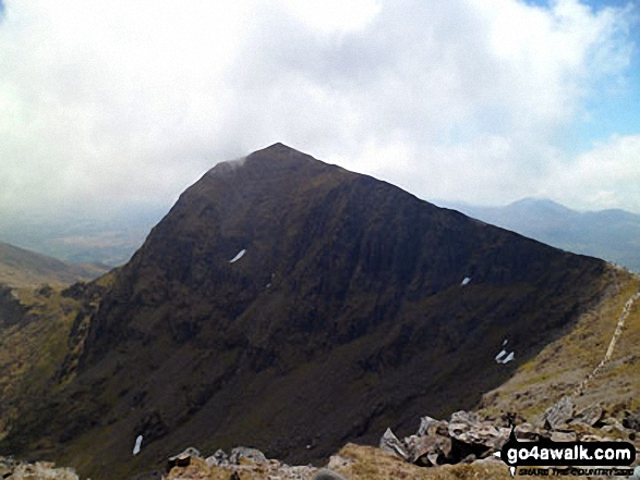 Snowdon - the highest hill in Wales also known as a Marilyn