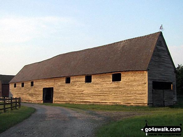 Wooden Barn near Little Moreton Hall