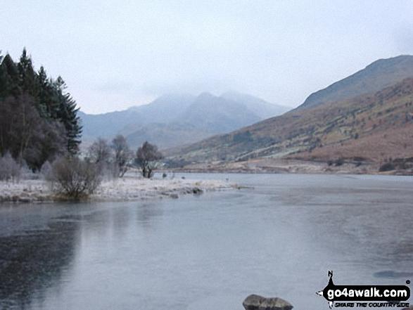 Snowdon from Llynnau Mymbyr, Capel Curig