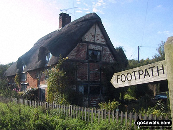 Walk ha167 Shortheath from Selborne - Oakhanger Village