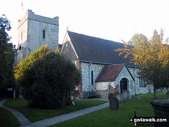 Walk ha167 Shortheath from Selborne - Selborne Church