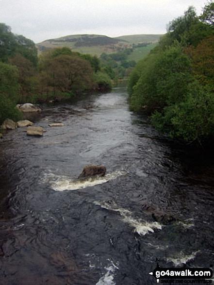 Afon Claerwen with Waun Lydan beyond