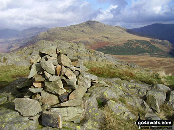 Walk Green Crag (Ulpha Fell) walking UK Mountains in The Southern Fells The Lake District National Park Cumbria    England