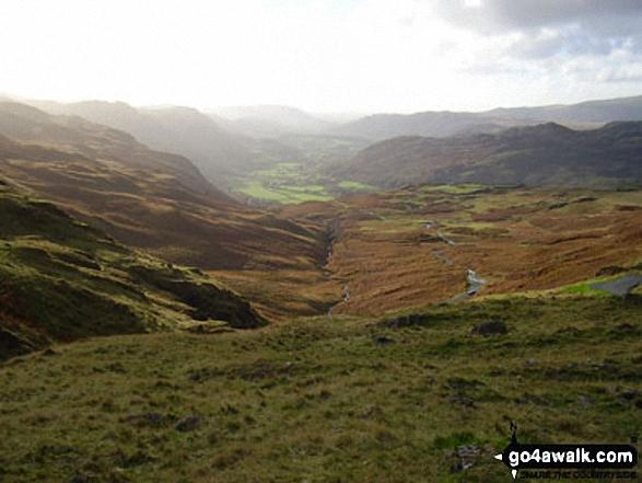 Eskdale from the summit of Harter Fell (Eskdale)