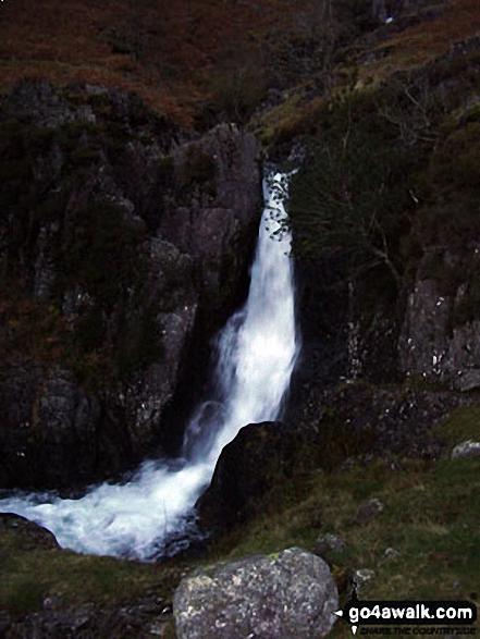 Lingcove Bridge Waterfall