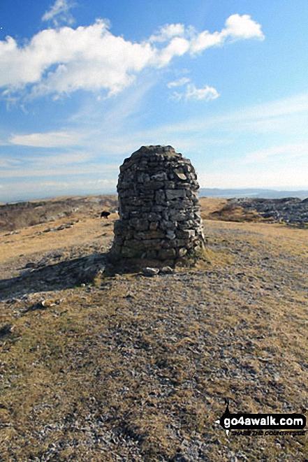 Lord's Seat (Whitbarrow Scar) summit
