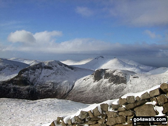 Walk Picture/View: Cove Mountain and Slieve Bearnagh from Slieve Donard in The Mourne Mountains, County Down, Northern Ireland by Colin McCourt (5)