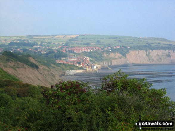 Robin Hood's Bay from Boggle Hole