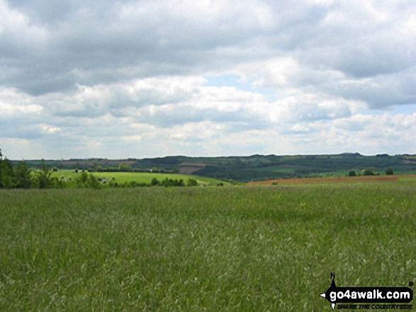 View from the Warden's Way near Brockhill Farm