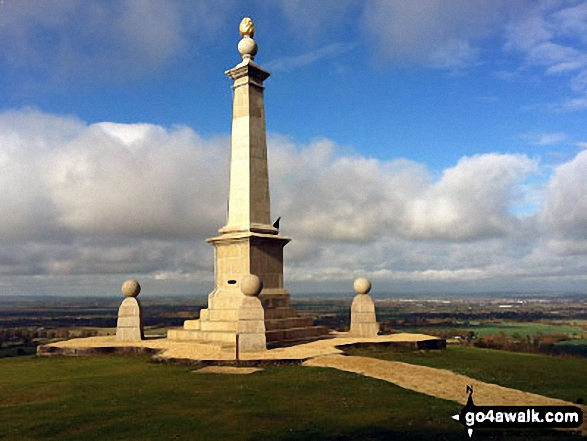 The Memorial on the top of Coombe Hill