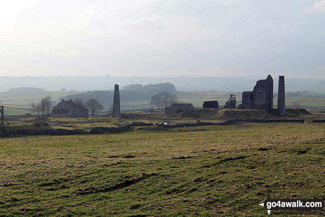 The disused Magpie Mine near Sheldon
