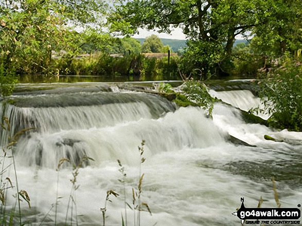 Weir on The River Wye near Rowsley