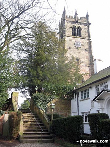 Entrance to Gawsworth Church