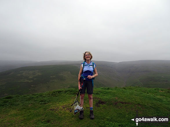 Me on Dufton Pike summit