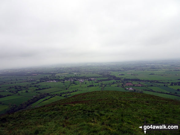 The view from Dufton Pike summit