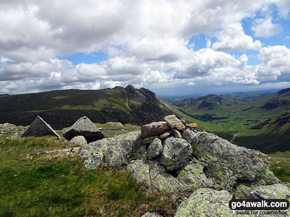 Buck Pike (Langdale) summit cairn