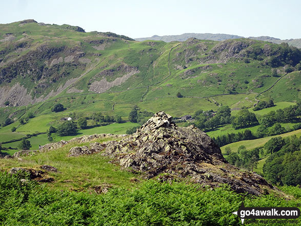 The summit Cairn of High Park (Langdale)