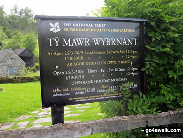 Ty Mawr Wybrnant The home of Bishop Morgan (no relation)