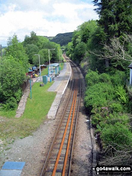 Dolwyddelan Railway Station