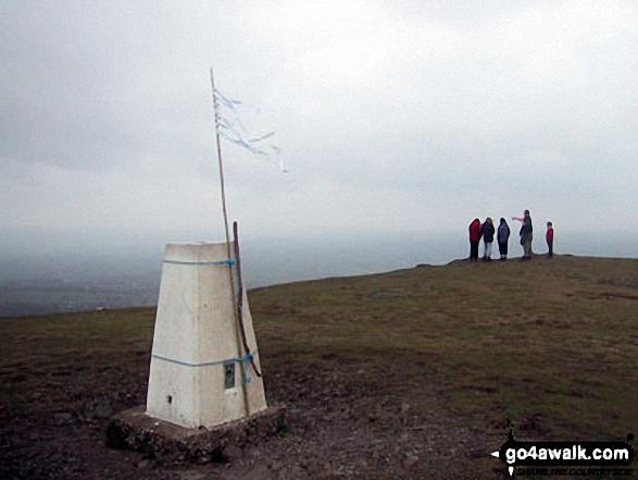 Earl's Hill summit trig point