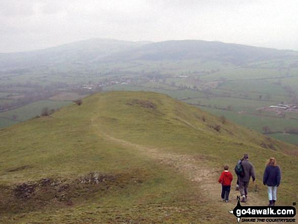 On the Earl's Hill summit ridge