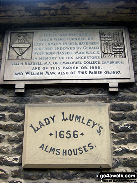 Lady Lumley's Almhouses in Thornton-le-Dale