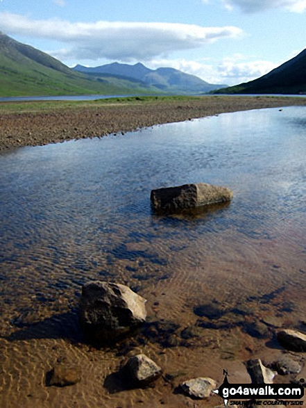 The Ben Cruachan Massif and Loch Etive from Glen Etive