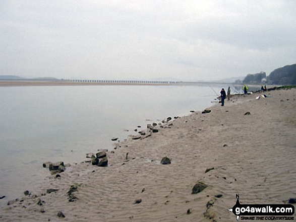 Fishermen on Arnside Sands, Morecambe Bay