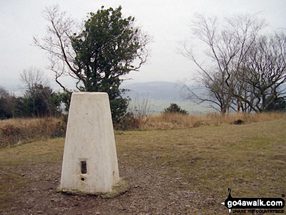 Arnside Knott summit trig point