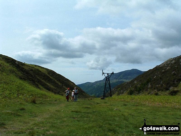 More Old Ore Transport Pylons in Grib Ddu nr Beddgelert