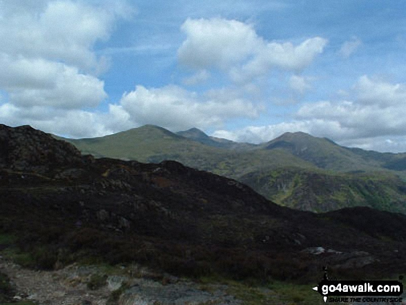 Snowdon from Grib Ddu Summit