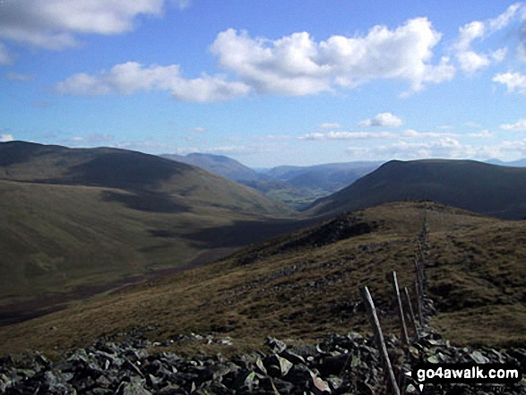 Mosedale (Mungrisdale) from Great Calva