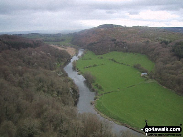 The River Wye and Huntsham Hill from Symonds Yat Rock
