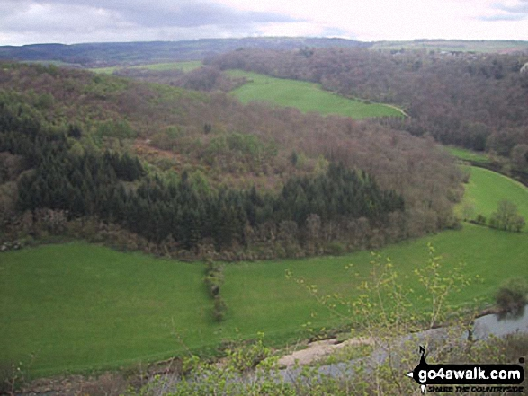 The River Wye and Coppet Hill from Symonds Yat Rock