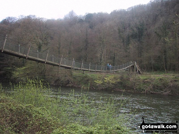 Suspension Bridge over the River Wye