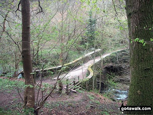 Upper Cwm Bridge over Grwyne Fechan near Llanbedr