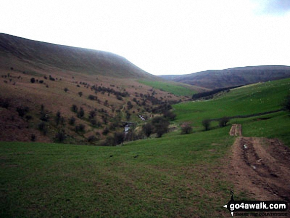 The Grwyne Fechan valley from Darren Fach